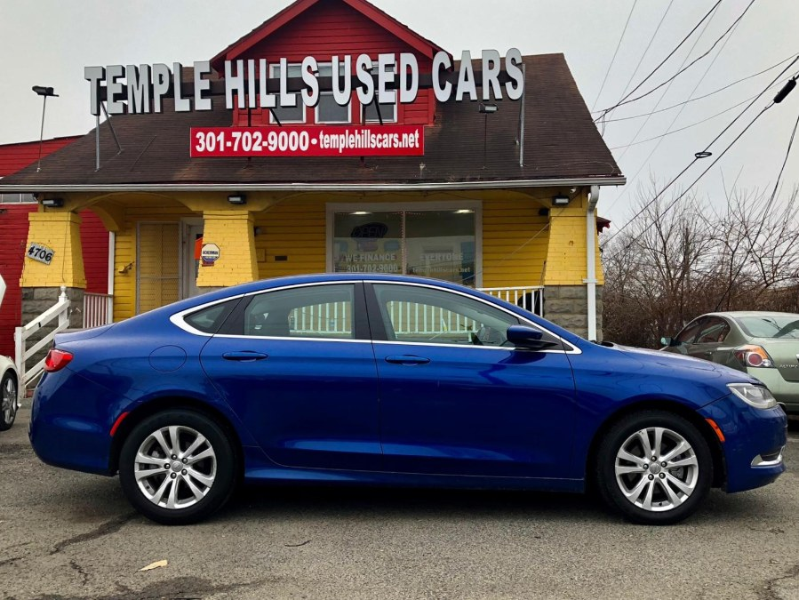 Used Chrysler 200 4dr Sdn Limited FWD 2015 | Temple Hills Used Car. Temple Hills, Maryland