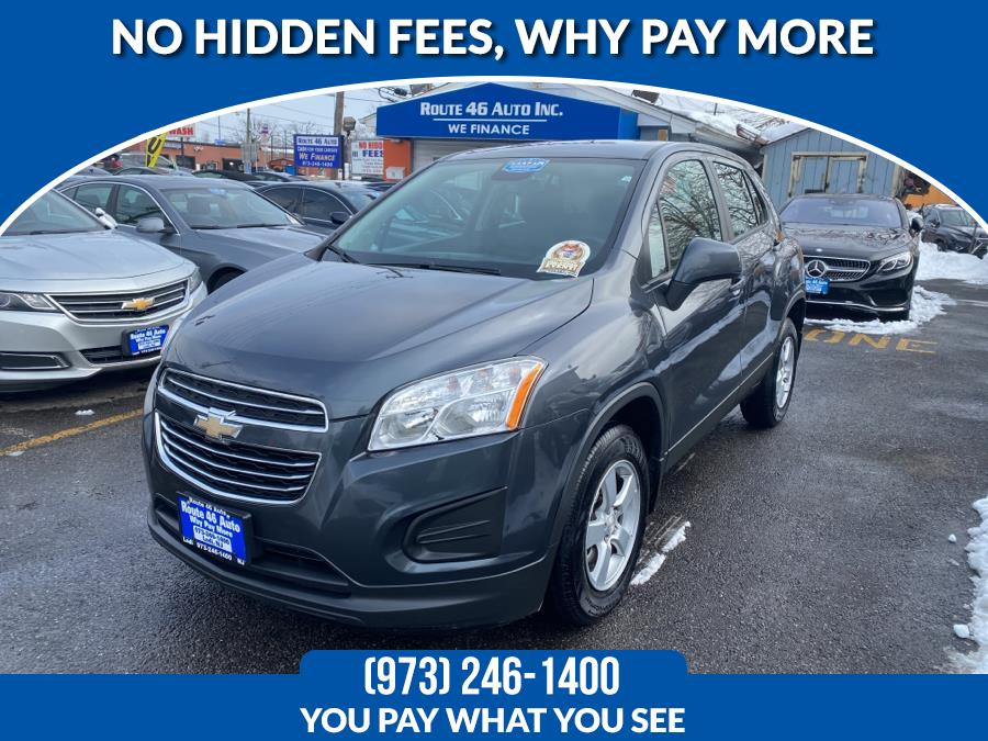 Used Chevrolet Trax AWD 4dr LS w/1LS 2016 | Route 46 Auto Sales Inc. Lodi, New Jersey