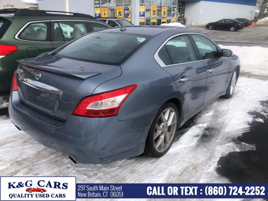 Used Nissan Maxima 4dr Sdn V6 CVT 3.5 SV w/Sport Pkg 2011 | K and G Cars . New Britain, Connecticut