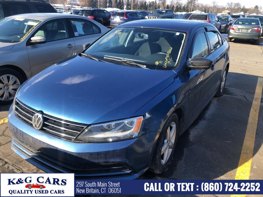 Used Volkswagen Jetta Sedan 4dr Auto 1.4T S 2016 | K and G Cars . New Britain, Connecticut