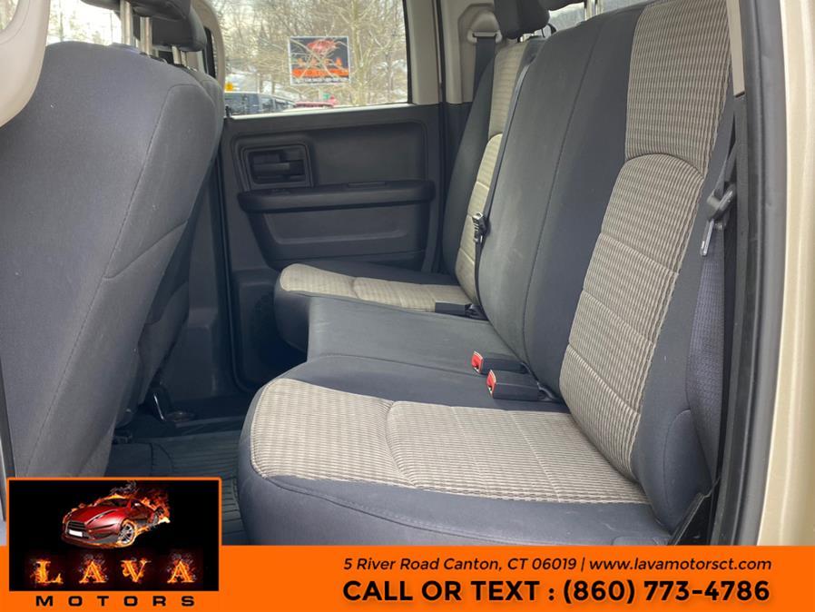 "Used Ram 1500 4WD Quad Cab 140.5"" Big Horn 2011 | Lava Motors. Canton, Connecticut"