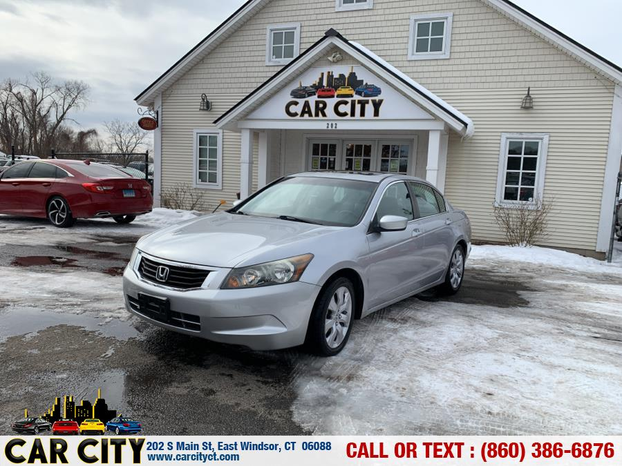 Used Honda Accord Sdn 4dr I4 Auto EX-L 2009 | Car City LLC. East Windsor, Connecticut