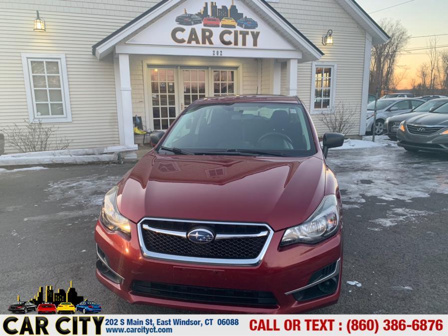 Used Subaru Impreza Wagon 5dr CVT 2.0i 2015   Car City LLC. East Windsor, Connecticut