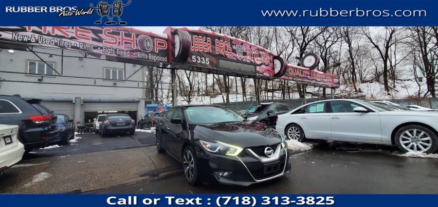Used 2017 Nissan Maxima in Brooklyn, New York | Rubber Bros Auto World. Brooklyn, New York