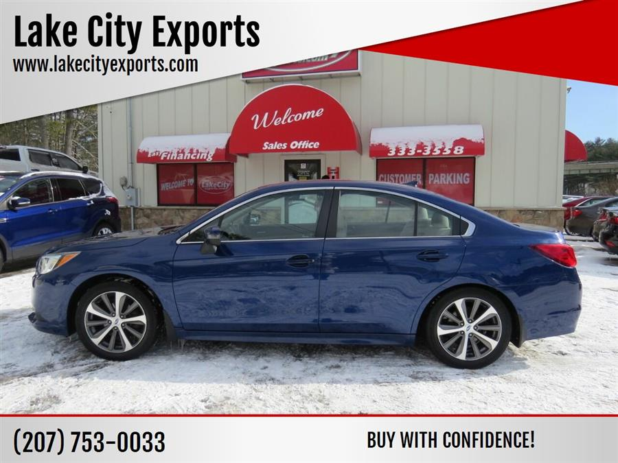 Used Subaru Legacy 2.5i Limited AWD 4dr Sedan 2016 | Lake City Exports Inc. Auburn, Maine