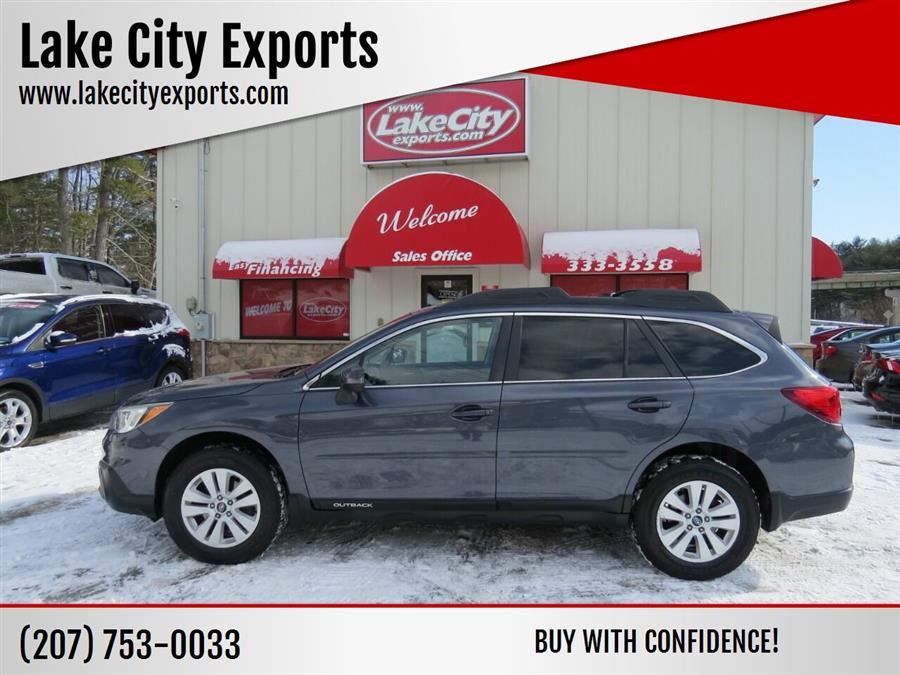 Used Subaru Outback 2.5i Premium AWD 4dr Wagon 2015 | Lake City Exports Inc. Auburn, Maine