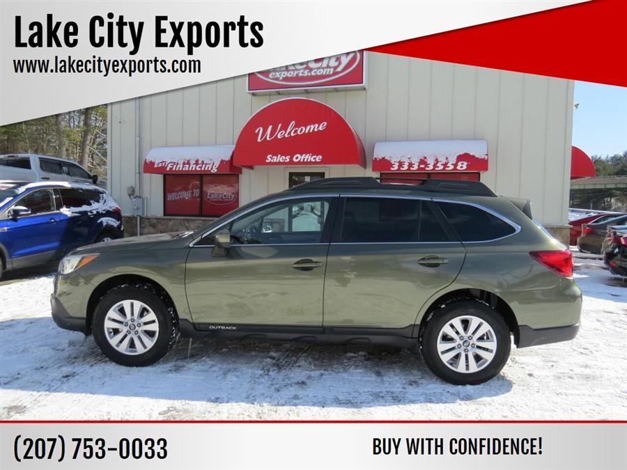 Used Subaru Outback 2.5i Premium AWD 4dr Wagon 2016 | Lake City Exports Inc. Auburn, Maine