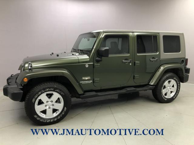 Used Jeep Wrangler 4WD 4dr Unlimited Sahara 2007 | J&M Automotive Sls&Svc LLC. Naugatuck, Connecticut