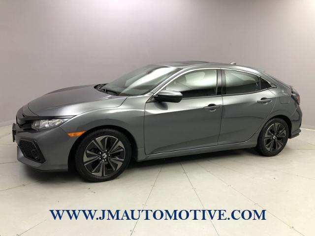 Used Honda Civic Hatchback EX-L Navi CVT 2017 | J&M Automotive Sls&Svc LLC. Naugatuck, Connecticut