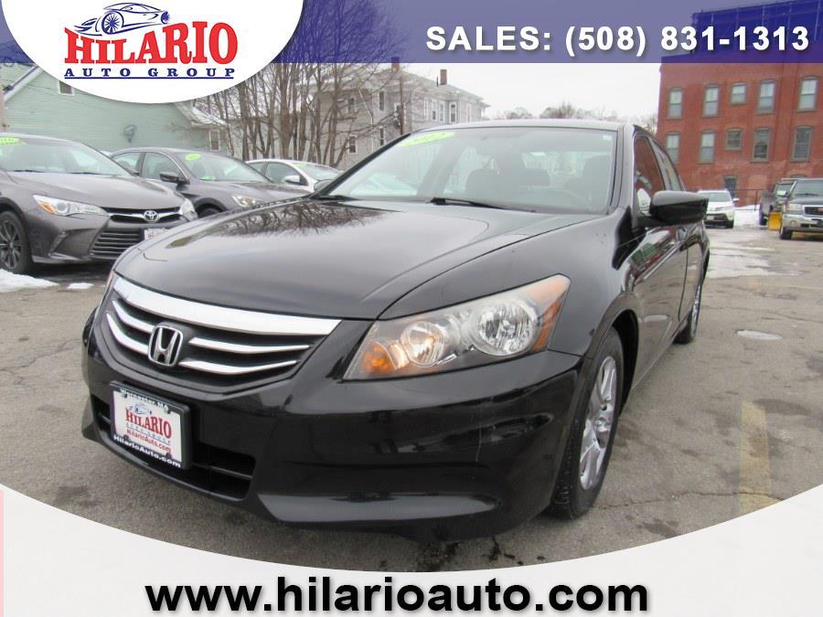 Used 2012 Honda Accord sedan in Worcester, Massachusetts | Hilario's Auto Sales Inc.. Worcester, Massachusetts