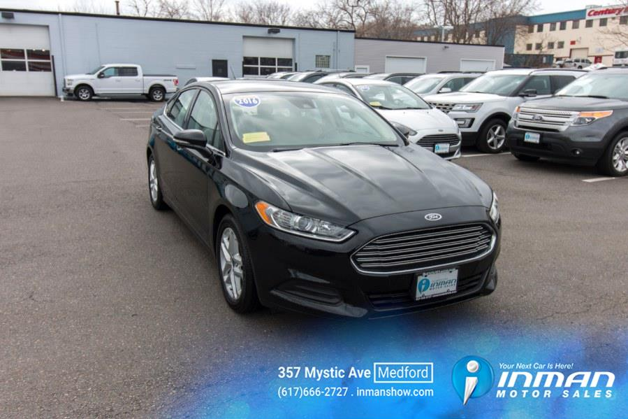 Used Ford Fusion 4dr Sdn SE FWD 2016 | Inman Motors Sales. Medford, Massachusetts