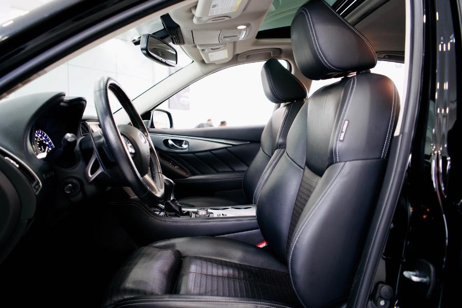 Used INFINITI Q50 Red Sport 400 AWD 2017 | Luxury Motor Club. Franklin Square, New York