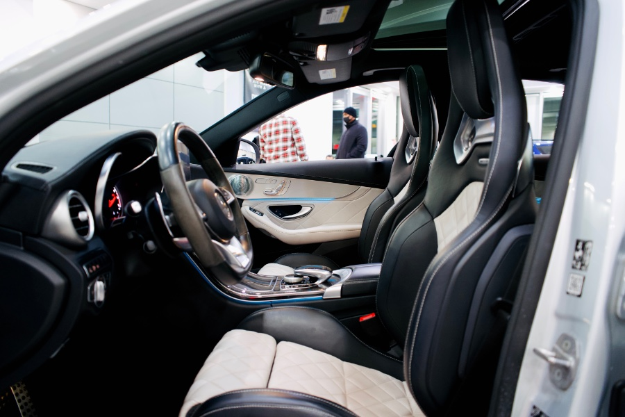 Used Mercedes-Benz C-Class AMG C 43 4MATIC Sedan 2018 | Luxury Motor Club. Franklin Square, New York