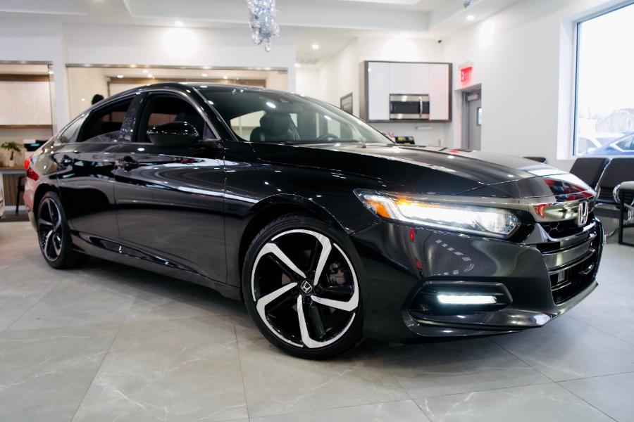 Used Honda Accord Sedan Sport 1.5T CVT 2019   Luxury Motor Club. Franklin Square, New York