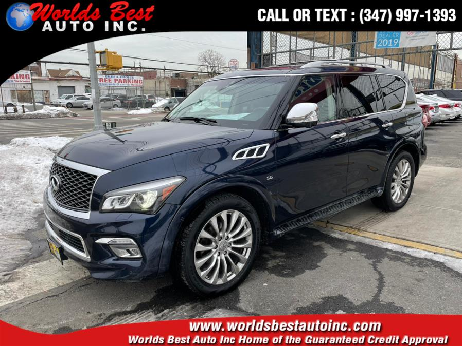 Used 2017 INFINITI QX80 in Brooklyn, New York
