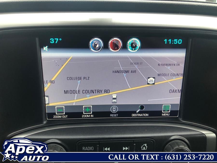 "Used Chevrolet Silverado 1500 4WD Crew Cab 143.5"" LTZ w/1LZ 2015   Apex Auto. Selden, New York"