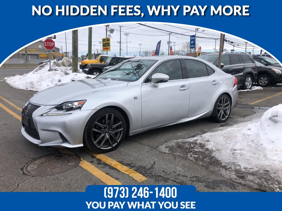 Used Lexus IS 250 4dr Sport Sdn Auto AWD 2014 | Route 46 Auto Sales Inc. Lodi, New Jersey