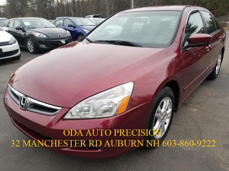 Used Honda Accord Sdn LX SE AT PZEV 2006 | ODA Auto Precision LLC. Auburn, New Hampshire
