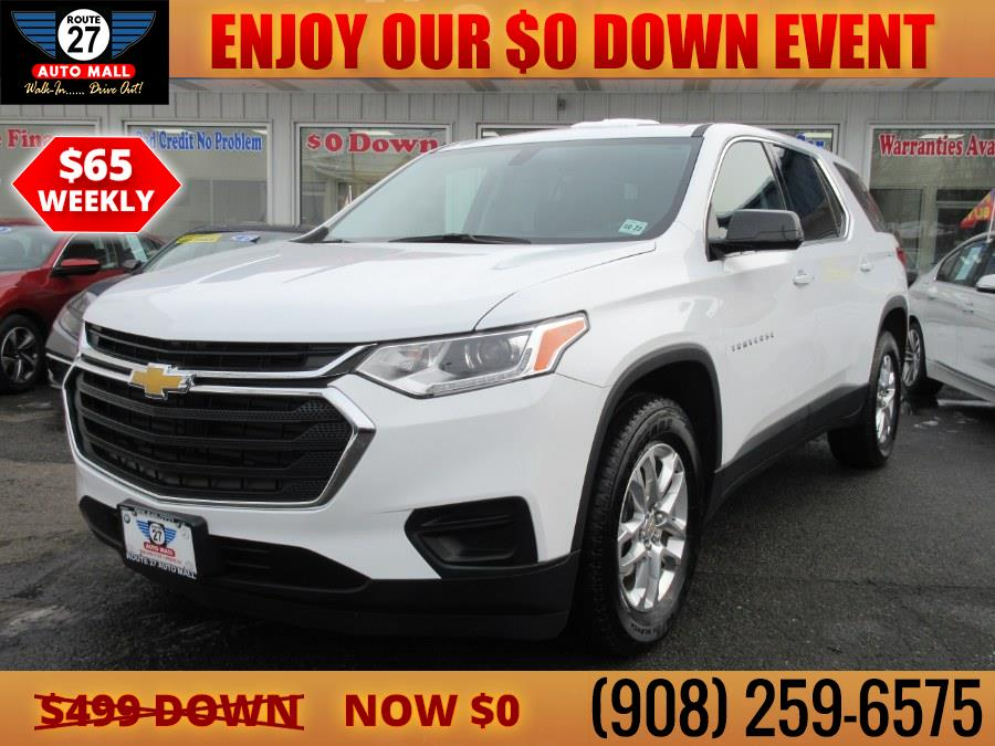 Used 2019 Chevrolet Traverse in Linden, New Jersey | Route 27 Auto Mall. Linden, New Jersey