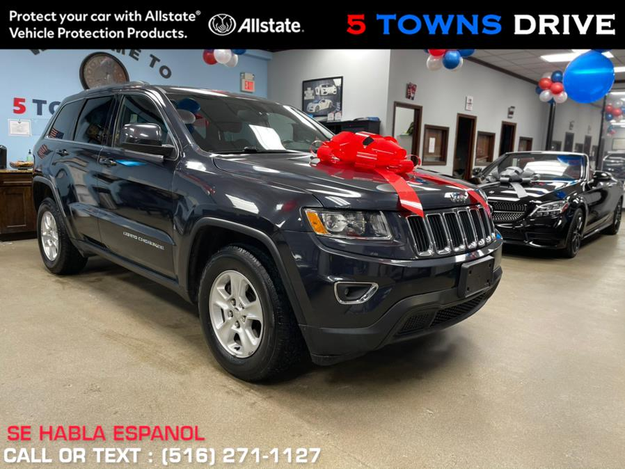 Used Jeep Grand Cherokee 4WD 4dr Laredo 2015 | 5 Towns Drive. Inwood, New York