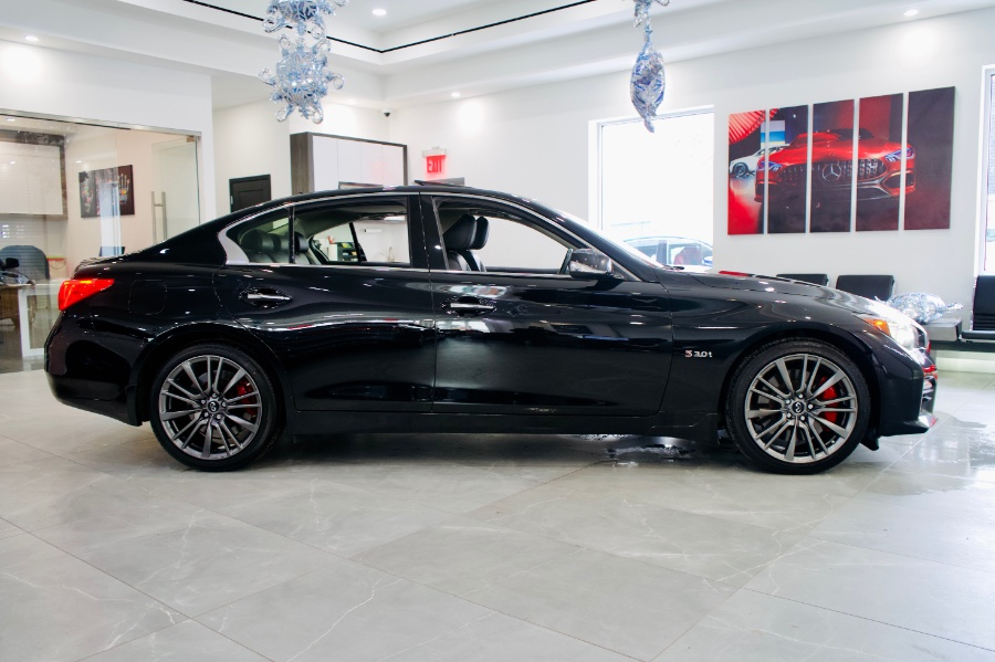 Used INFINITI Q50 Red Sport 400 AWD 2017 | C Rich Cars. Franklin Square, New York