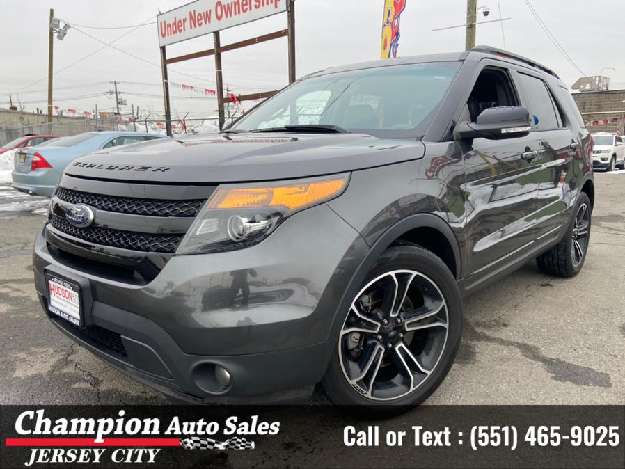 Used Ford Explorer XLT 4WD 2017 | Champion Auto Sales of JC. Jersey City, New Jersey