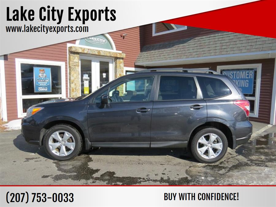 Used Subaru Forester 2.5i Premium AWD 4dr Wagon CVT 2015 | Lake City Exports Inc. Auburn, Maine