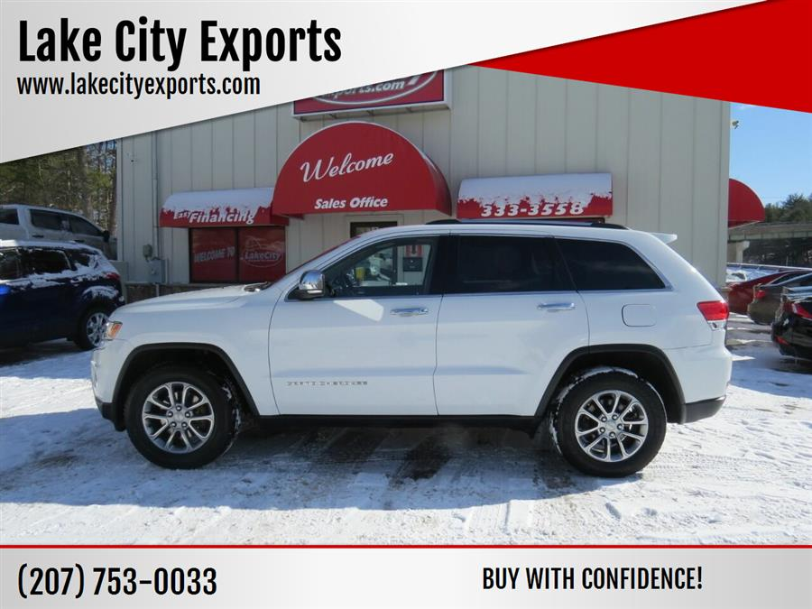 Used Jeep Grand Cherokee Limited 4x4 4dr SUV 2014 | Lake City Exports Inc. Auburn, Maine