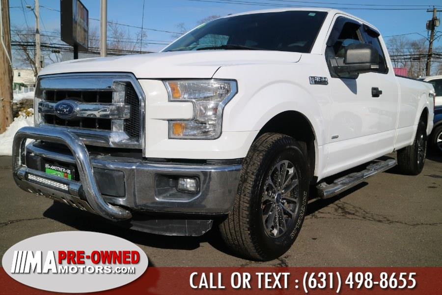 """Used Ford F-150 with 8ft bed 4WD SuperCab 163"""" XLT LB 2016 