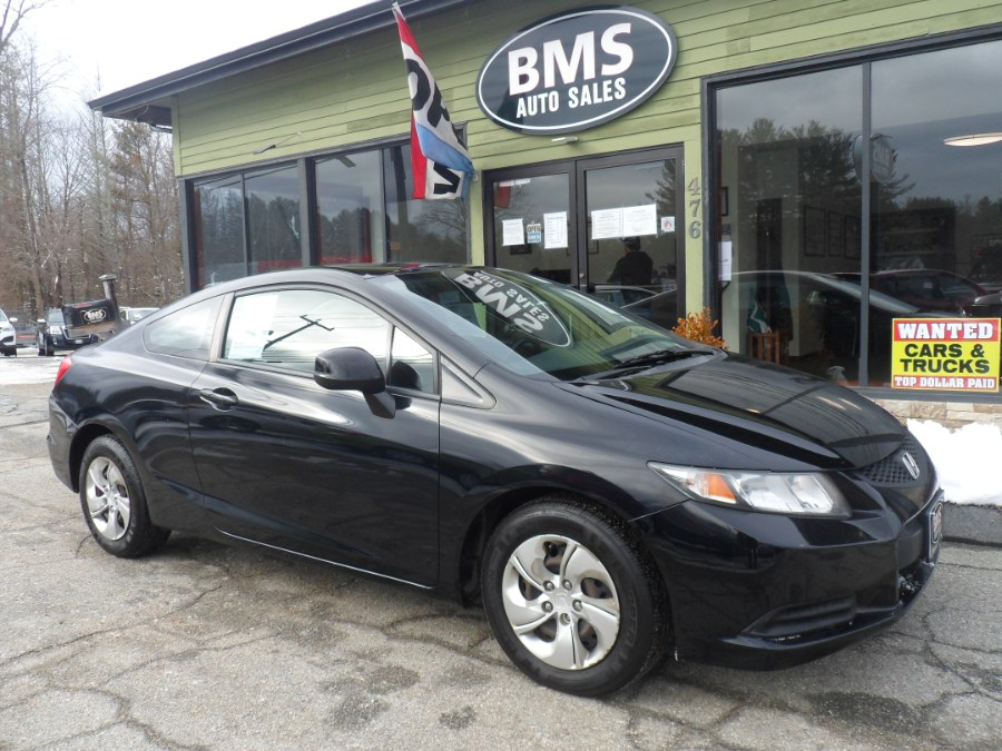 Used 2013 Honda Civic Cpe in Brooklyn, Connecticut | Brooklyn Motor Sports Inc. Brooklyn, Connecticut