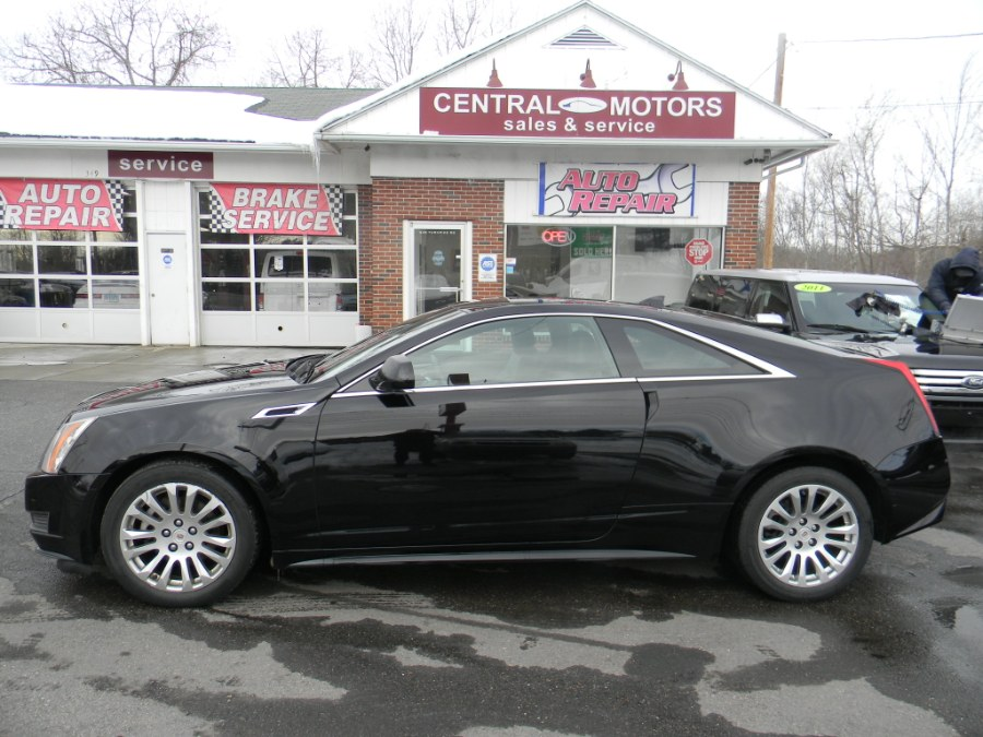 Used Cadillac CTS Coupe 2dr Cpe AWD 2014 | M&M Vehicles Inc dba Central Motors. Southborough, Massachusetts