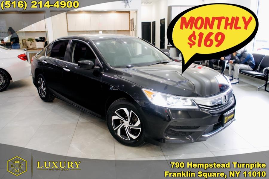 Used Honda Accord Sedan 4dr I4 CVT LX w/Honda Sensing 2016 | Luxury Motor Club. Franklin Square, New York