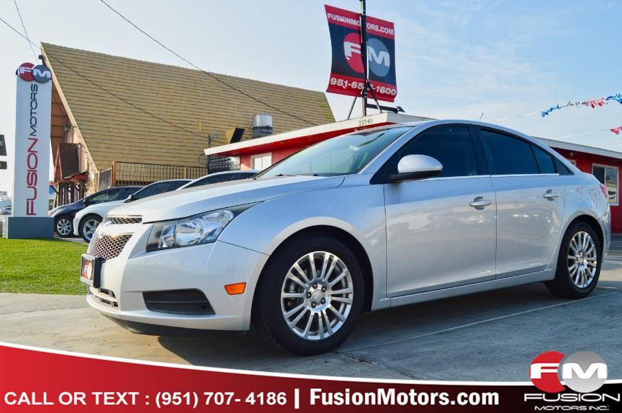 Used 2012 Chevrolet Cruze in Moreno Valley, California | Fusion Motors Inc. Moreno Valley, California