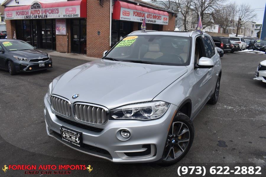 Used BMW X5 xDrive35i Sports Activity Vehicle 2018 | Foreign Auto Imports. Irvington, New Jersey