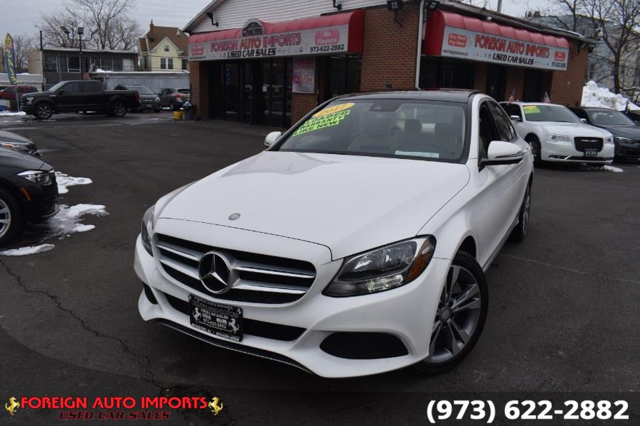 Used Mercedes-Benz C-Class C 300 4MATIC Sedan 2017 | Foreign Auto Imports. Irvington, New Jersey