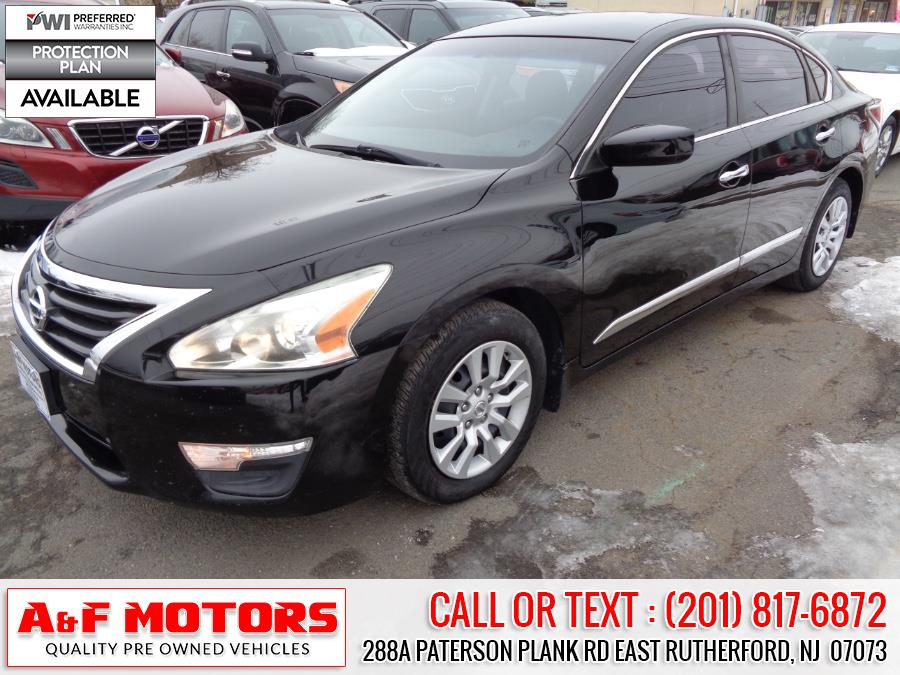Used 2015 Nissan Altima in East Rutherford, New Jersey | A&F Motors LLC. East Rutherford, New Jersey