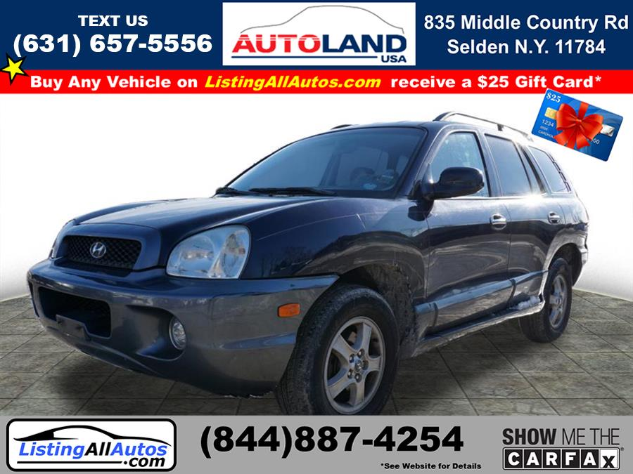 Used 2004 Hyundai Santa Fe in Patchogue, New York | www.ListingAllAutos.com. Patchogue, New York