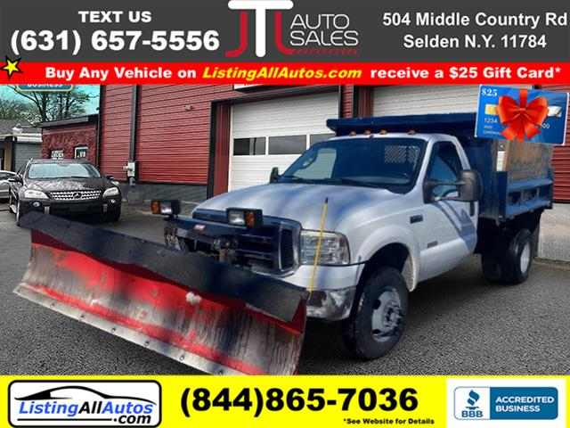 "Used Ford Super Duty F-350 Drw Reg Cab 141"" WB 60"" CA XL 4WD 2006 