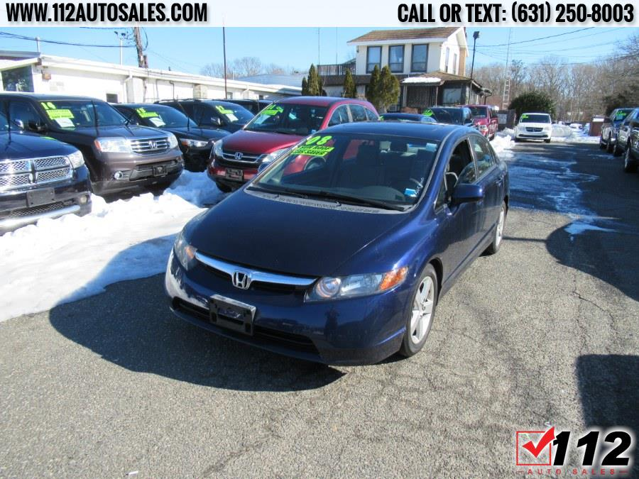 Used Honda Civic Sdn 4dr Auto EX w/Navi 2008 | 112 Auto Sales. Patchogue, New York