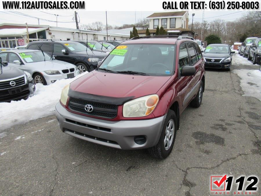 Used Toyota RAV4 4dr Auto 4WD (Natl) 2005 | 112 Auto Sales. Patchogue, New York