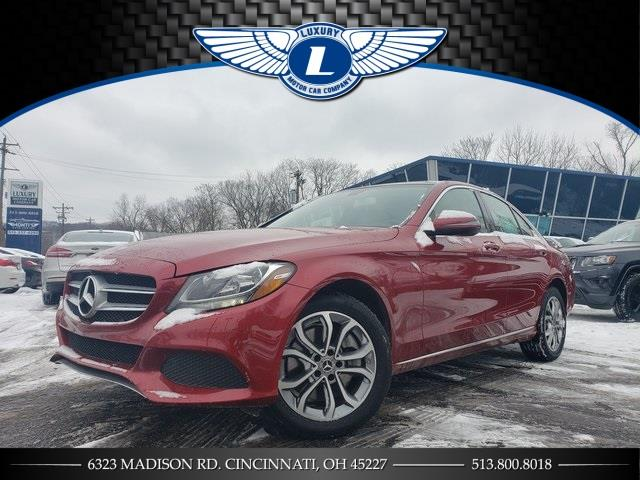 Used 2017 Mercedes-benz C-class in Cincinnati, Ohio | Luxury Motor Car Company. Cincinnati, Ohio