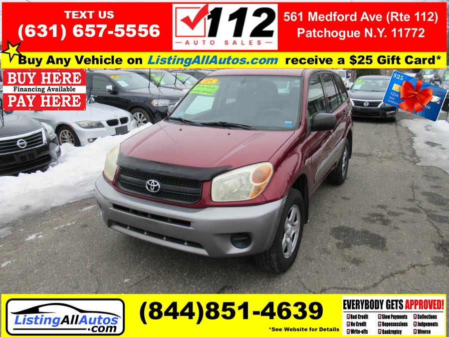 Used Toyota RAV4 4dr Auto 4WD (Natl) 2005 | www.ListingAllAutos.com. Patchogue, New York