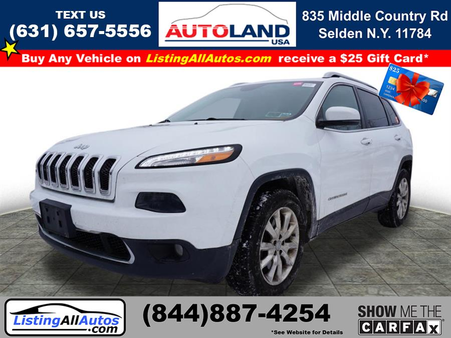 Used 2015 Jeep Cherokee in Patchogue, New York | www.ListingAllAutos.com. Patchogue, New York