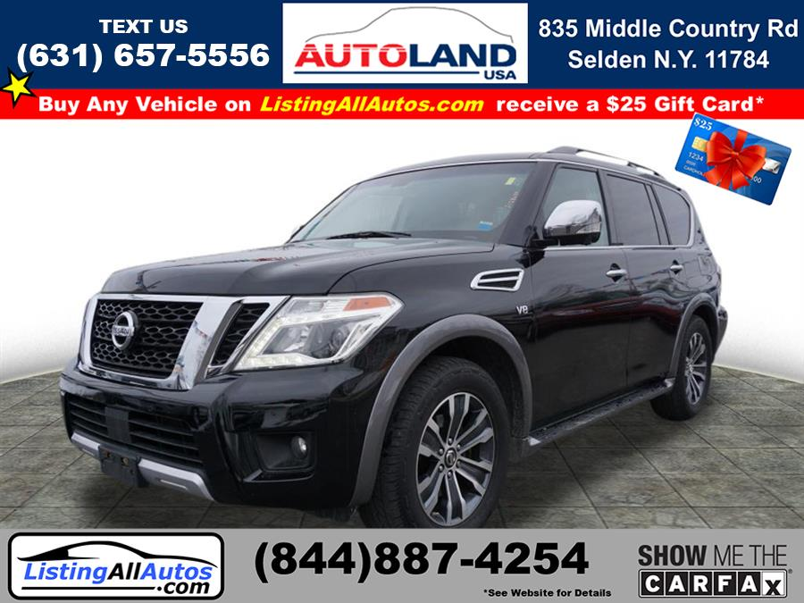 Used 2017 Nissan Armada in Patchogue, New York | www.ListingAllAutos.com. Patchogue, New York
