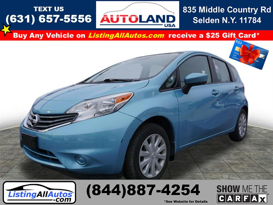 Used Nissan Versa Note S 2015 | www.ListingAllAutos.com. Patchogue, New York