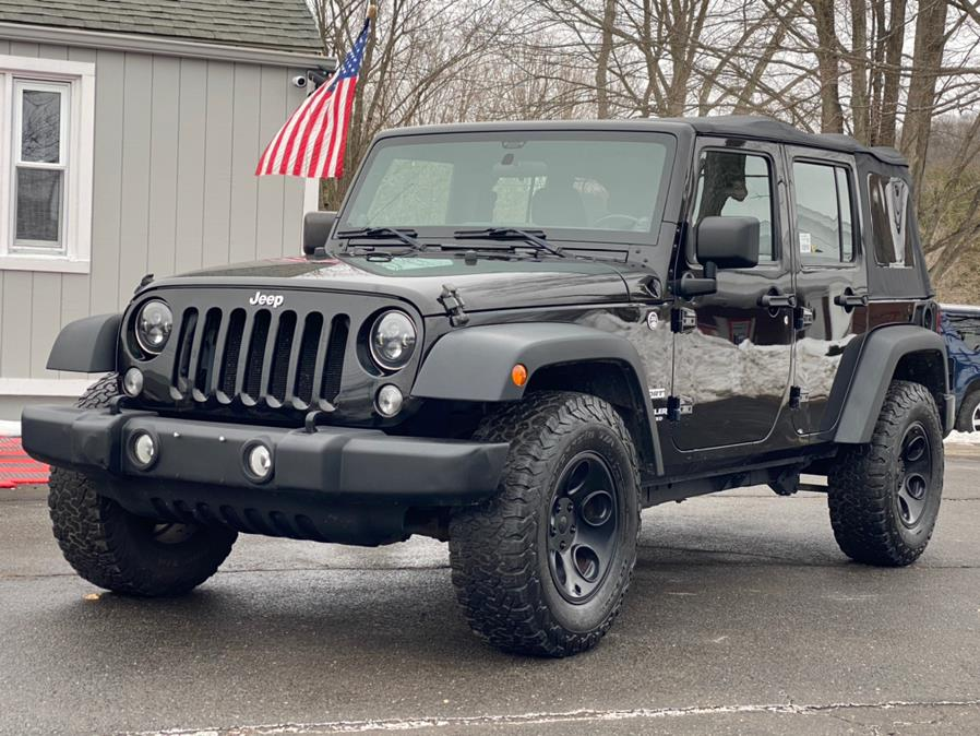Used Jeep Wrangler Unlimited 4WD 4dr Sport 2014 | Lava Motors 2 Inc. Canton, Connecticut