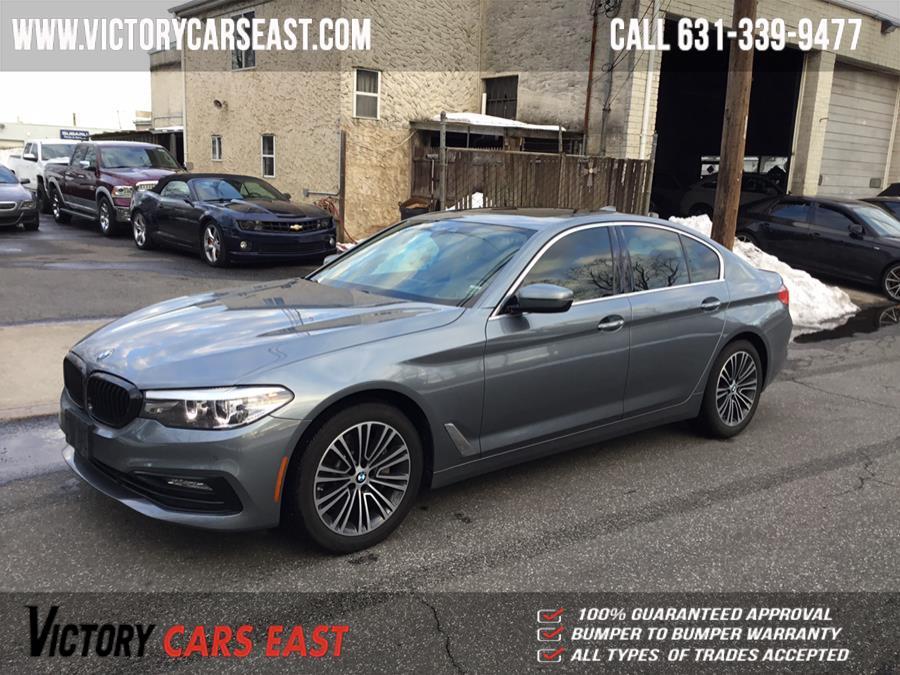 Used BMW 5 Series 530i xDrive Sedan 2018 | Victory Cars East LLC. Huntington, New York