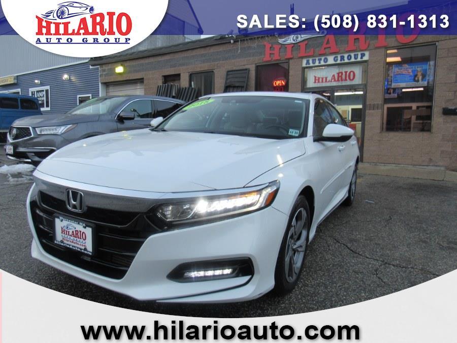 Used 2018 Honda Accord Sedan in Worcester, Massachusetts | Hilario's Auto Sales Inc.. Worcester, Massachusetts