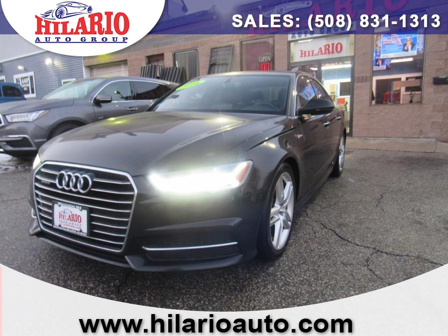 Used 2016 Audi A6 in Worcester, Massachusetts   Hilario's Auto Sales Inc.. Worcester, Massachusetts