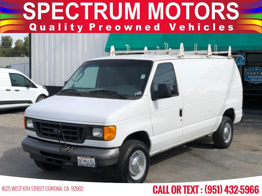 Used 2006 Ford Econoline Cargo Van in Corona, California | Spectrum Motors. Corona, California